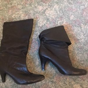 Style & Co leather boots